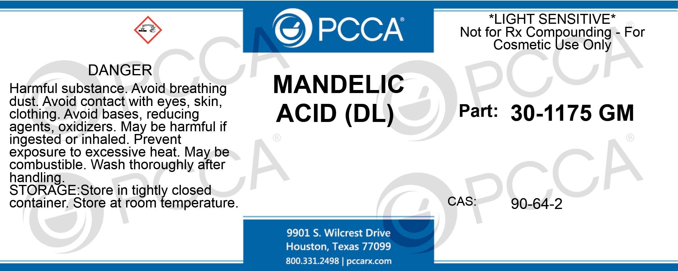 MANDELIC ACID (DL) - PCCA
